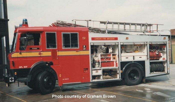 Prince Frederick Dodge >> Wimbledon Fire Station